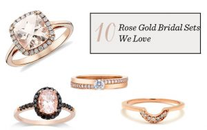 Wedding Trend Alert: Rose-Gold Rings