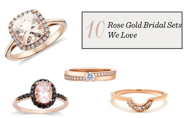 Wedding Ring Bridal Sets 88 Lovely Wedding Trend Alert Rose