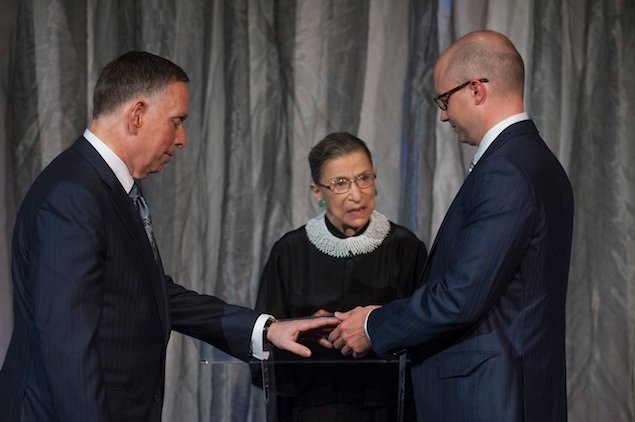 Michael Kaiser—Newly Married by Justice Ginsburg—on Love, Marriage, and What's Coming Up for the Kennedy Center