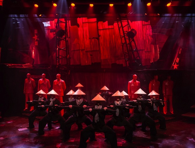 """Theater Review: """"Miss Saigon"""" at Signature Theatre"""