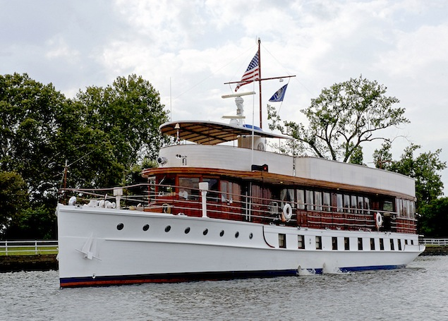 Former Presidential Yacht the Sequoia Tossing in a Legal Storm