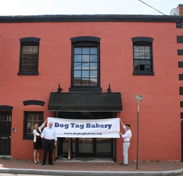 No Flagpole for Georgetown's Dog Tag Bakery
