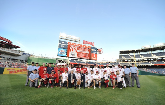 Wounded Warriors and Celebrities Set to Play 3rd Classic After Nats-Phillies Game