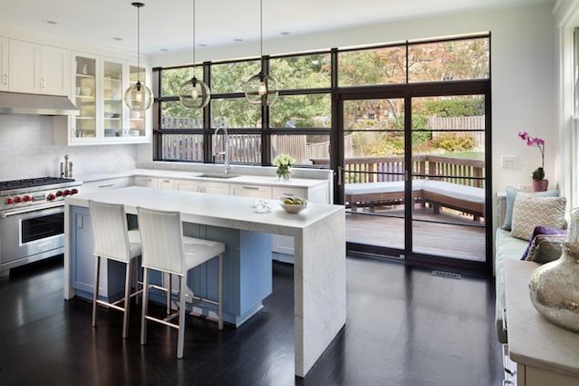 white kitchens: low maintenance, high style | washingtonian