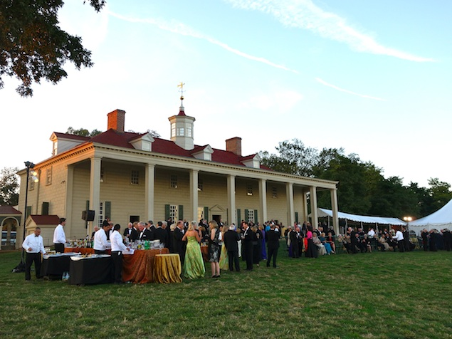 A Gala Dinner Dance Celebrates the Opening of George Washington's Presidential Library
