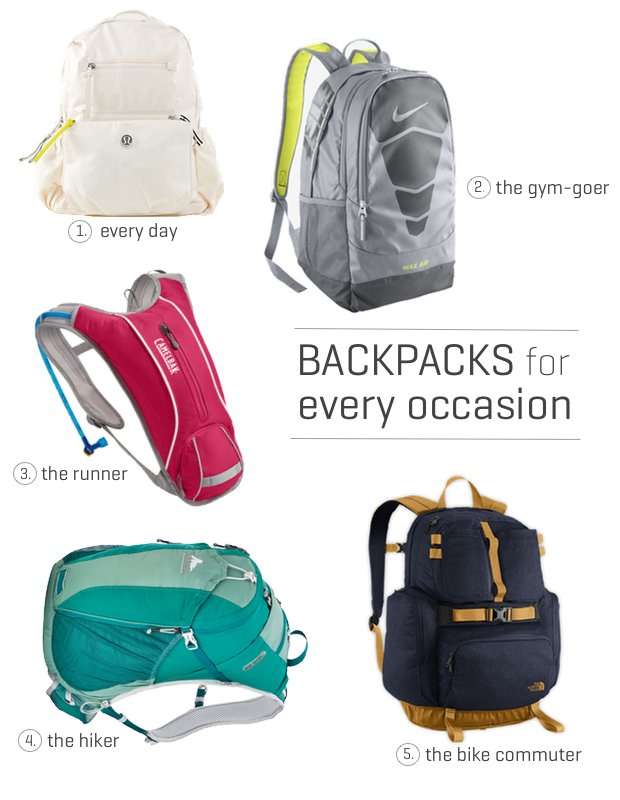 5 Sporty Backpacks for Every Occasion