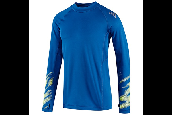 Adidas Climawarm Graphic Mock Turtleneck