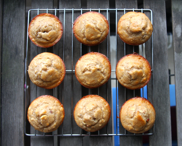 Healthy Recipe: Peanut Butter Banana Muffins