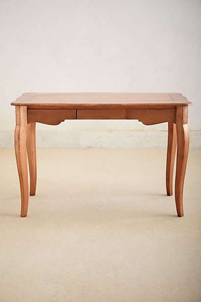 Fabulous Copper toned writing desk on sale from at Anthropologie