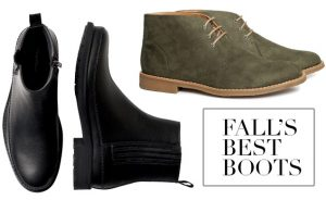 Style Tip for Guys: 10 Great Pairs of Fall Boots