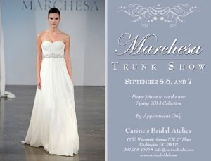 The Best Bridal Trunk Shows, Sales, and Events in September