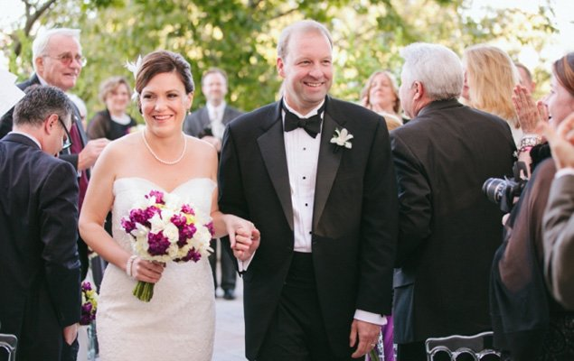 Real Wedding: Andrea and Dan