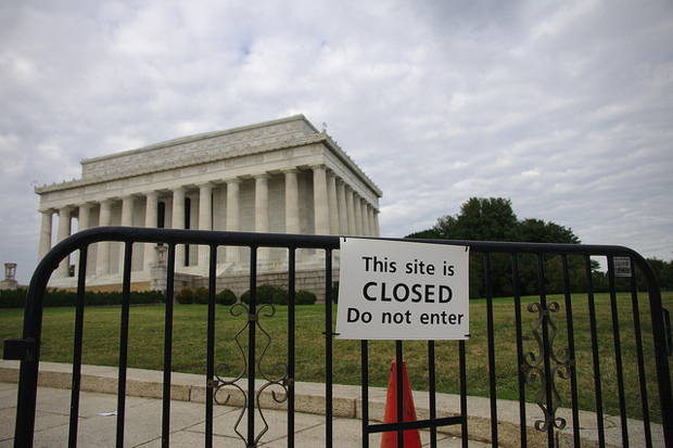 On Second Day, No Signs that Shutdown Will End Soon