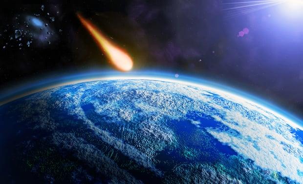 Meteor Burns Up as It Flies Over Washington Area