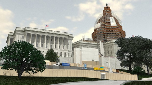 Capitol Dome to Get a 2-Year Makeover