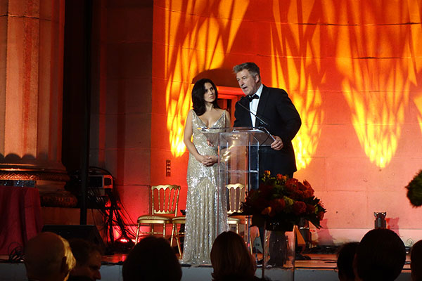 Glamorous Gala Becomes Shutdown Roast, Featuring Alec Baldwin (Photos)