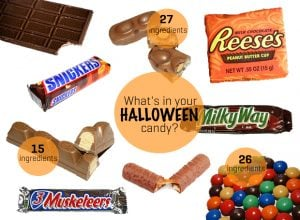 How Many Ingredients Are in Your Favorite Halloween Candy?
