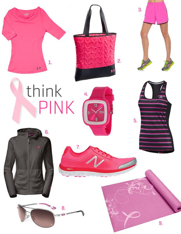 Breast Cancer Awareness Workout Gear