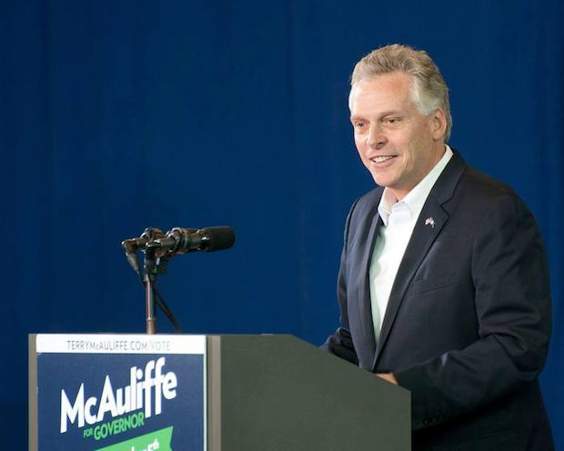 Terry McAuliffe Elected Governor of Virginia