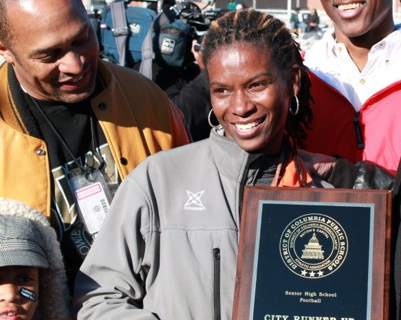 Coolidge High School Football Coach Natalie Randolph Steps Down