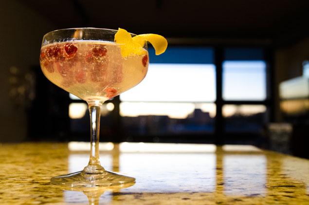 Holiday Recipe: Sparkling Pomegranate Cocktail