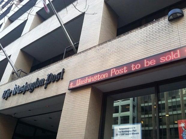Grahams to Sell Washington Post Building for 9 Million