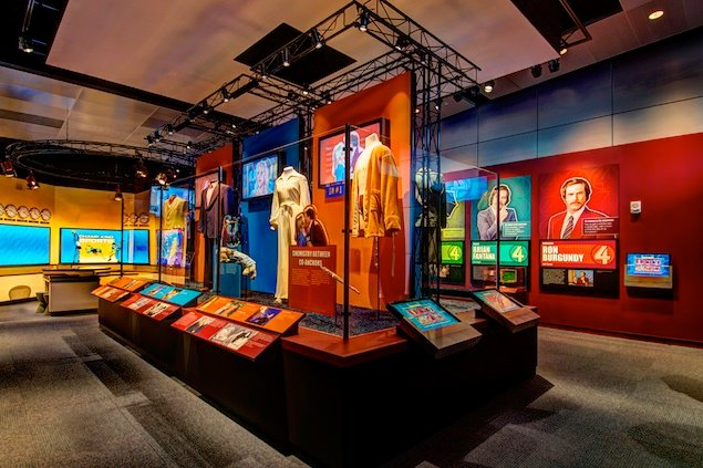 """Museum Preview: """"Anchorman, the Exhibit"""" at the Newseum"""