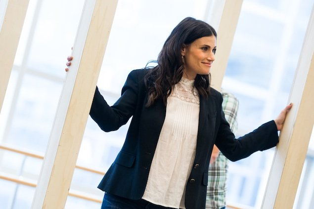 "Behind the Scenes at ""If/Then"" With Idina Menzel (Video)"