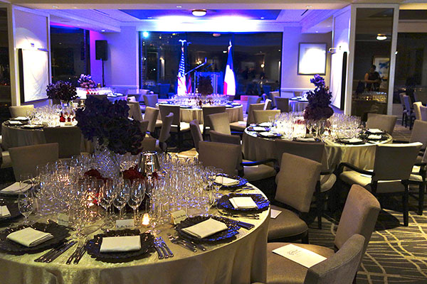 Upstairs, Downstairs: The Four Seasons Hosts 2 Gala Dinners on the Same Night (Photos)