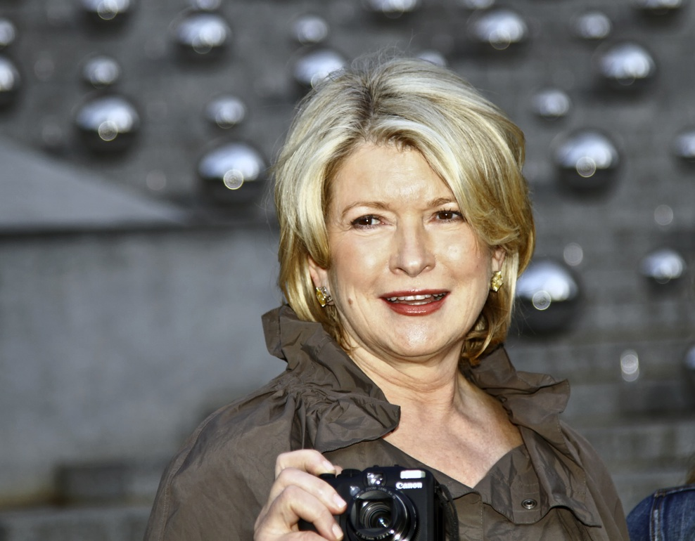 Martha Stewart's Worst Photos, Giant Bacon Cubes, and Coreless Apples: Eating & Reading