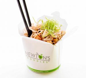Lunch Break: The Healthiest and Worst Dishes at Newton's Noodles
