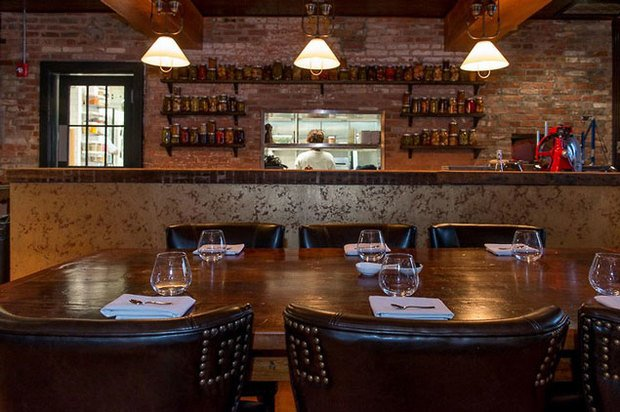 Snow Day Fun: The New Iron Gate Opens for Lunch