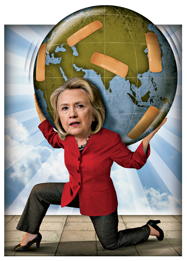 Looking Ahead to 2016, Hillary Clinton's State Problem