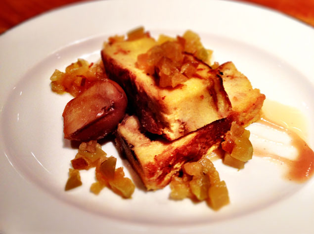 Recipe Sleuth: Blue Duck Tavern's Pear and Apple French Toast