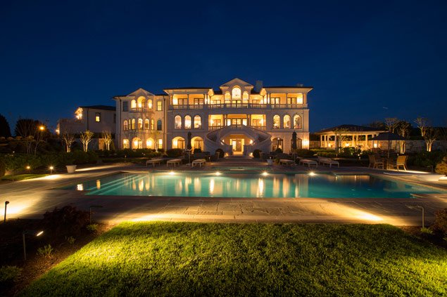 Luxury Homes: Waterfront Home Lists for  million (Photos)