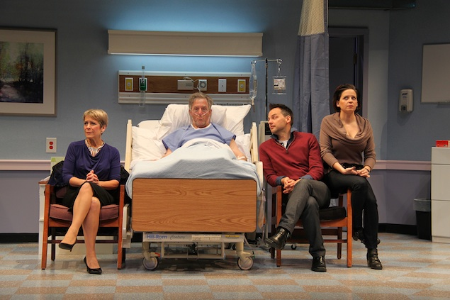 "Theater Review: ""The Lyons"" at Round House Theatre"