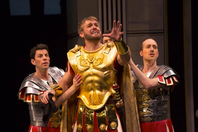 "Theater Review: ""A Funny Thing Happened on the Way to the Forum"" at Shakespeare Theatre"