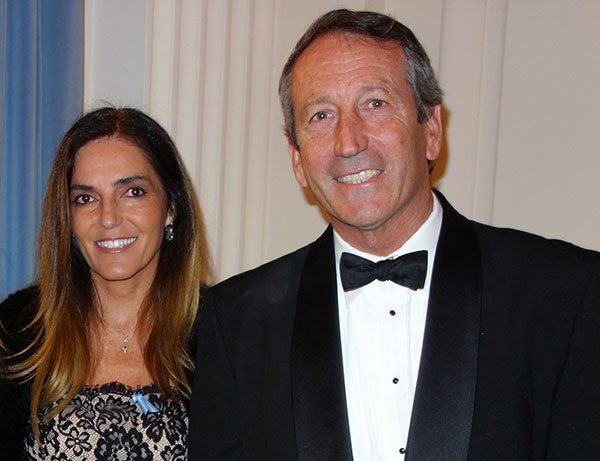 Mark Sanford and Maria Belen Chapur, in a Rare Outing, Attend Party for Argentina (Photos)
