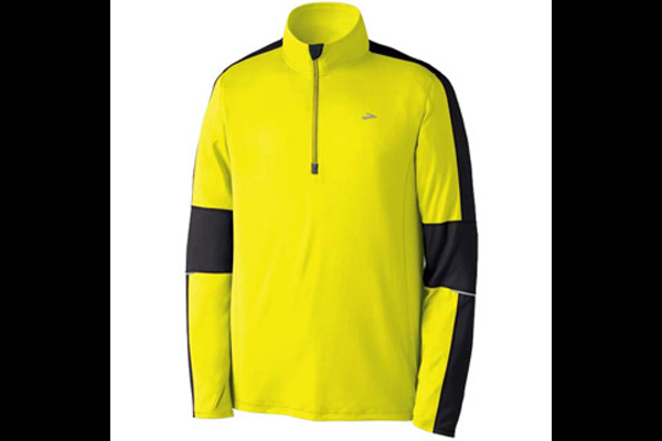Brooks Essential Nightlife Run 1/2 Zip Top