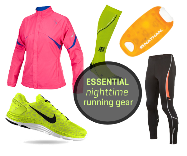 Essential Gear for Nighttime Running (Photos)