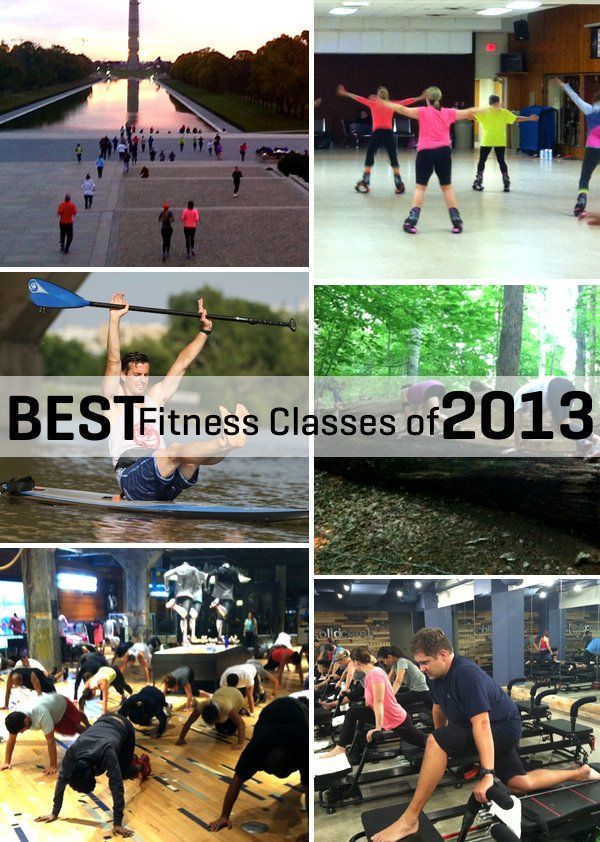 The Best Fitness Classes We Took in 2013
