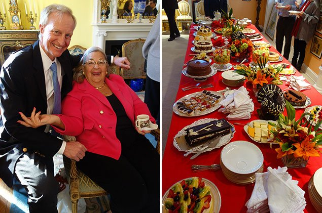 A Feast of Desserts at Esther Coopersmith's Post-Thanksgiving Holiday Party (Photos)