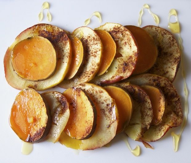 Healthy Recipe: Sweet Potato and Apple Stacks