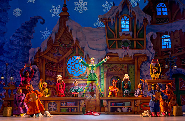 """Theater Review: """"Elf the Musical"""" at the Kennedy Center"""