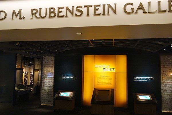 A First Look Inside the New Rubenstein Gallery at the National Archives (Photos)