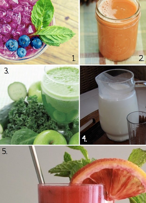 Healthy Recipes: 5 Simple Juicing Recipes