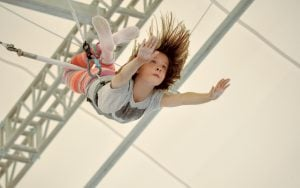 Family fun: trapeze, brunch, fencing