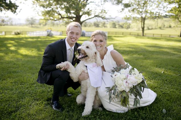 Real Wedding: Alexandra and Brad