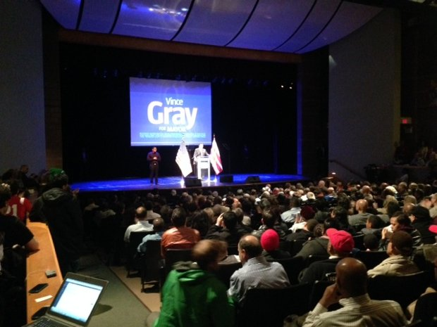 Vince Gray Launches 2014 Campaign With Apology for 2010