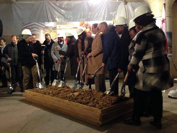 "Officials ""Break Ground"" on Redevelopment of Old Hecht's Building"
